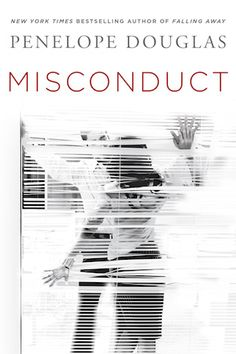I freaking LOVE this cover. Misconduct, Penelope Douglas