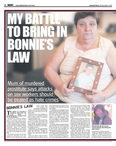 JACKIE FIGHTS FOR 'BONNIES LAW'