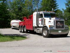 Abrams Towing Services has provided superior towing and roadside assistance in Canada since Speak with our friendly staff at Ottawa Ontario, Heavy Duty Trucks, Tow Truck, Buses, Platform, Website, Street, Google, Wedge