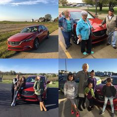 Another fun @mazda test drive - this time it was the 2017 #Mazda6 #GrandTouring - I roadtripped from #Chicago down to #Champaign and proceeded to cart my many family members around town! The #SoulRed color is very eye catching so I made sure to stay at the speed limit :) I went an entire week on just about a tank of gas - not bad!  Check out my Facebook Page for the full review. http://ift.tt/2uyznpl - it's definitely a nice priced sedan worth checking out. - $32.8k MSRP with the #GT premium…