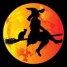 Koho děsí čarodějnice. Skryté nebezpečí této noci ... Halloween Moon, Halloween Night, Halloween Stuff, Tole Painting, Painting & Drawing, Moon Images, Images Google, Bing Images, Halloween Decorations
