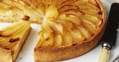 Пирог с грушей и горгонзолой   Шедевры кулинарии   Pinterest