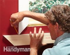 Most trim carpenters don't even use a tape to trim windows. It's all done by eye, with a sharp pencil, a miter saw and an 18-gauge nailer. Here's how they do it.