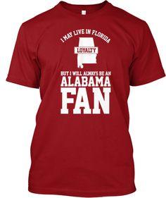 Florida Alabama Fans! | Teespring