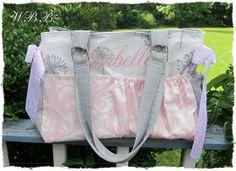 huge leopard diaper bag hot pink chocolate brown cuddle fabric rh pinterest com