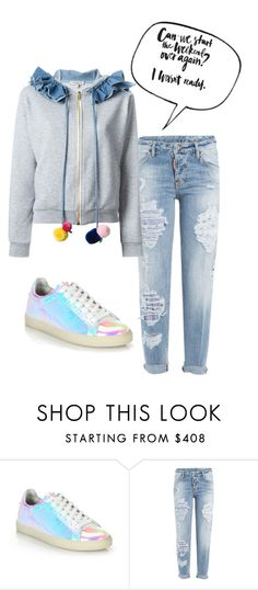 """""""Is it the weekend yet?"""" by engleann ❤ liked on Polyvore featuring IRO, Dsquared2 and Natasha Zinko"""