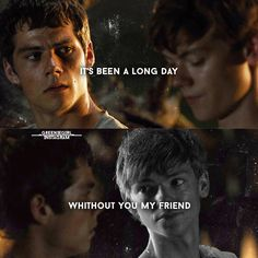 """""""And i'll tell you all about it"""" #newtmas #dylanobrien #thomasbrodiesangster"""