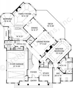 Just the standard master suite changes... Raewood House Plan -