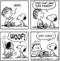 #thepeanuts #pnts #schulz #snoopy #linus #snap #woof