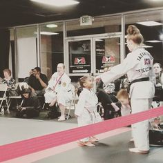 Hard work persistence and great instructors... Tiger Promotion @triplecrownmartialarts  #successrev #family #martialarts