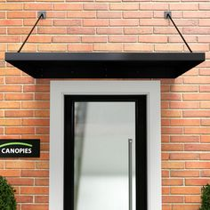 Metal Door Canopy TYPE: L DDA Act Compliant