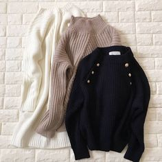 Pin by ひらりん on ファッション Turtle Neck, Pullover, Knitting, Womens Fashion, Sweaters, Shopping, Clothes, Style, Collage