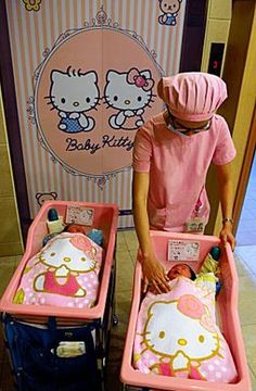 Whenever I get pregnant, I'm going to Taiwan to have my baby in this Hello Kitty Themed Maternity Hospital!