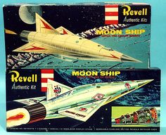 Revell Moon Ship Models - 1960's