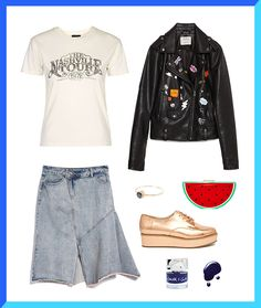 3 Ways to Take a Band Tee to the Next Level via Brit + Co