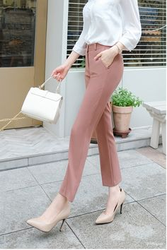 15 work outfit women you are looking for page 9 Summer Formal Outfits, Semi Formal Outfits For Women, Office Wear Women Work Outfits, Outfit Work, Classy Business Outfits, Stylish Work Outfits, Basic Outfits, Korean Outfits, Korean Fashion Dress