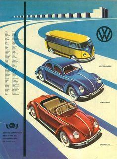 Volkswagen Bulli (T1) and Volkswagen Käfer (Beetle)