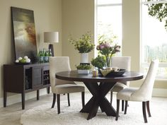 I'm searching for the perfect round dining table...possible option.