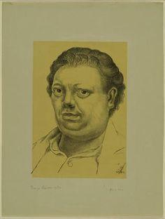 Diego Rivera  Self Portrait  Autoretrato   1930 MoreDiego Rivera Self Portrait