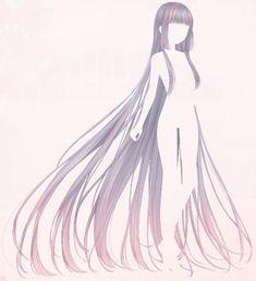 Anime Angel Girl, Cool Anime Girl, Anime Art Girl, Manga Hair, Anime Hair, Hair Reference, Art Reference Poses, Pelo Anime, Manga Anime
