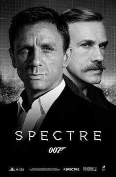Daniel Craig and Christopher Waltz