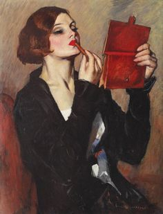 Emilian Lăzărescu - Cochetărie (1925)