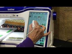 Machine Embroidery Projects Coloring Book Embroidery Tutorial using the Dream Machine - Brother Embroidery Machine, Machine Embroidery Thread, Machine Embroidery Projects, Learn Embroidery, Embroidery Ideas, Embroidery Stitches, Beginner Embroidery, Embroidery Machines, Creative Embroidery