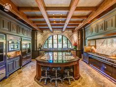 Luxury Kitchen Inside Nashville's 15 Million Dollar Home - Nashville Lifestyles Luxury Kitchen Design, Best Kitchen Designs, Luxury Kitchens, Cool Kitchens, Nashville, Million Dollar Homes, Dream Rooms, Beautiful Kitchens, My Dream Home