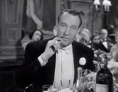 All About Eve - 1950  George Sanders always elegant, suave, and dapper plays critic Addison DeWitt