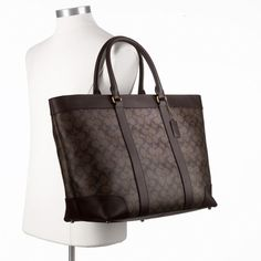 Coach :: Bleecker Signature Weekend Tote