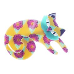 Cat Jewelry, Resin Jewelry, Jewlery, Laser Cut Acrylic, Quirky Gifts, Cat Pin, Cat Love, Crazy Cats, Costume Jewelry