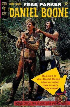 No. 1 Daniel Boone, Portada