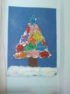 Maro's kindergarten: Christmas trees round-up!