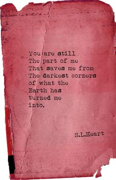 """""""Light Of Mine"""" (2014) poetry by S.L.Heart"""