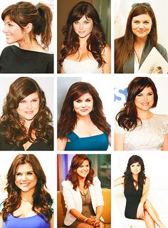 Tiffany Thiessen. Beautiful no matter what hairstyle!