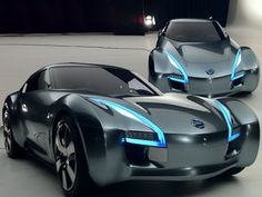 2011 Nissan Electric Sports Cars ESFLOW Concept