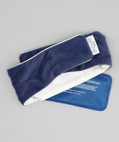 Look at this DreamTime Blue Velvet Spa Comforts Migraine Wrap on #zulily today!