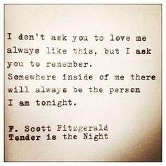 Somewhere inside of me...