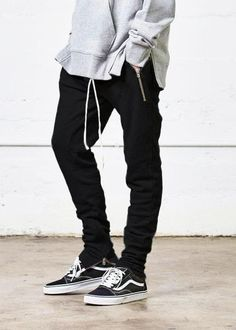Fear of God Yeezy Rick Owens French Terry Sweats - Black