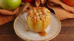 Best Apple Pie Baked Apples Recipe - How to Make Apple Pie Baked Apples Baked Apple Dessert, Apple Dessert Recipes, Apple Recipes, Just Desserts, Fall Recipes, Dessert Parfait, Cooked Apples, No Bake Pies, Delish