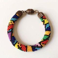 Pico Bracelet Boho Nepal Crochet Bracelets Colorful