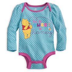 Winnie the Pooh Disney Cuddly Bodysuit for Baby   Clothes   Baby   Disney Store   Official Site for Disney Merchandise   On Sale   Disney Store $9