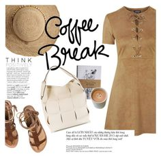 """""""Coffee break"""" by punnky ❤ liked on Polyvore featuring мода, Topshop, Coccinelle, Flora Bella и Avenue"""