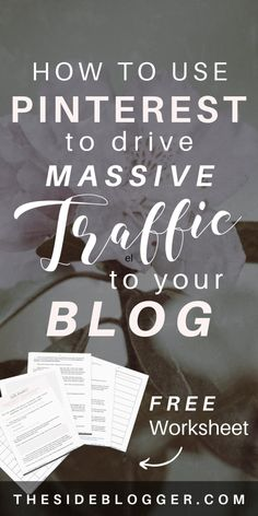How to be a Pinterest Boss and Drive massive Traffic to Your Blog Make Money Blogging, How To Get Money, Seo For Beginners, Content Marketing Strategy, Pinterest For Business, Blog Tips, How To Start A Blog, Pinterest Tutorial, Money Makers