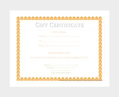 How To Create A Gift Certificate In Word 44 Free Printable Gift Certificate Templates For Word & Pdf .