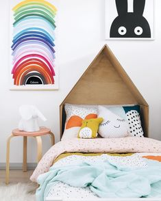 """b637aa0135be Tarina Wood on Instagram: """"Some bright, fun colours for your Hump Day 🌈  Styled & photographed by me for @adoremagazine in @sassandspice 's cute  kids room ..."""