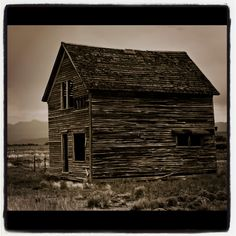 Old House in Alamosa, CO.