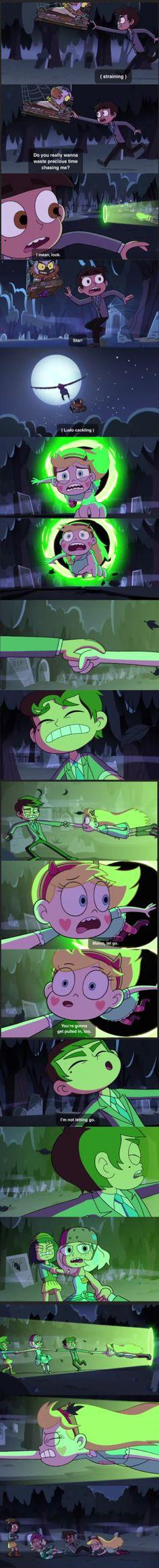 Saddest scene ever part 1 Star vs the forces of evil