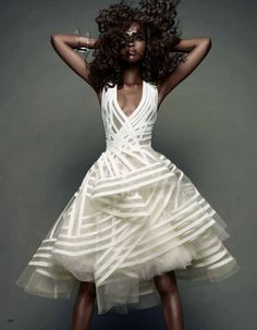Donna Karan - I could never wear this (even if I had a place to wear it) but it's an amazing dress!