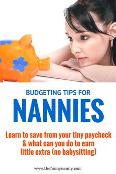 every nanny, au pair and daycare provider is struggling to find a way to save, budget and enjoy life on their paycheck! Check out these tips and share yours!